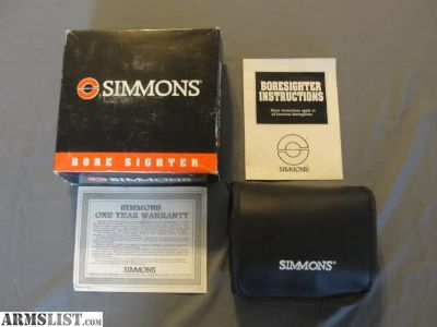 For Sale: Like New SIMMONS BORE SIGHTER #1480