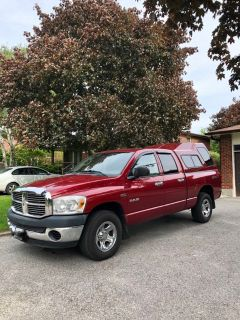2008 Dodge Ram 4x4 with matching cap