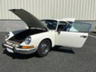 1969 Porsche 912 Coupe White with Black Interior