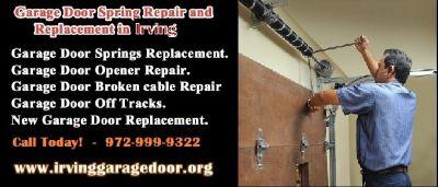 Quickly Garage Door Spring Repair Services 75039, TX - Start $25.95