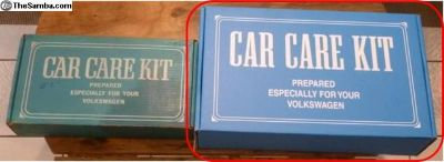 Car Care Kit Box (Reproduction)