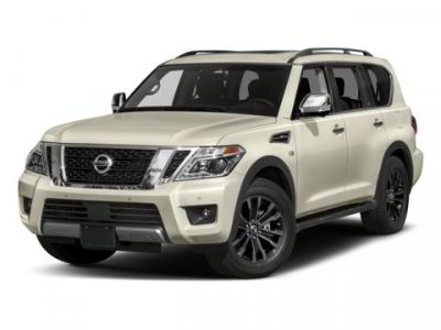 2018 Nissan Armada Platinum (Pearl White)