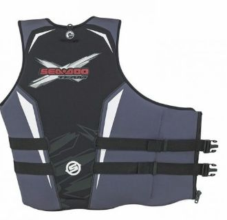 Buy SEA DOO OEM MENS FORCE PULL OVER PFD LIFE VEST LIFE JACKET BLACK XL 2858191230 motorcycle in Lanesboro, Massachusetts, United States, for US $89.99