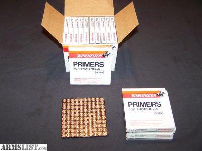 For Sale: Shotgun shotshell primers