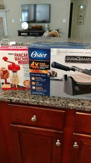 New in Box! Waffle Maker and Pancake Mix Dispenser