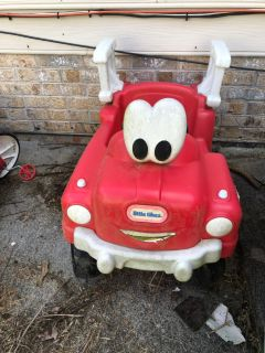 Cozy coupe fire truck