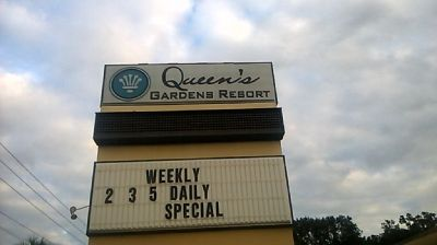 Ocala Hotel Rooms Call Queens Garden Resort