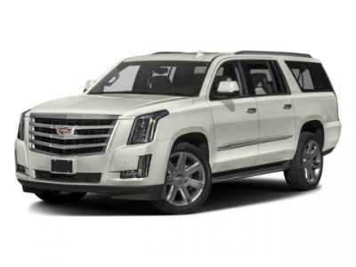 2016 Cadillac Escalade ESV Luxury (Radiant Silver Metallic)