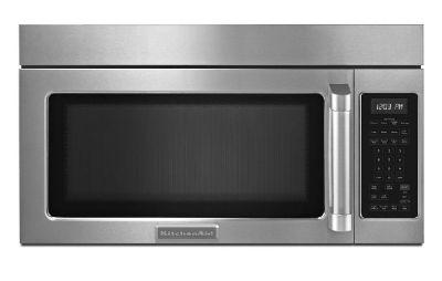 KitchenAid Over the Range Microwave Oven Pro Handle 300 cfm Vent
