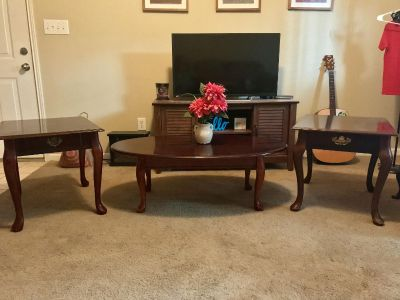 Solid Wood Coffee and End Tables $100 OBO