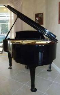 Piano Ridgewood (By Weber) Polished Ebony Baby Grand -