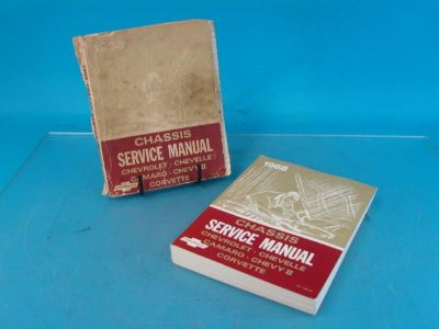 Sell Lot-2 1968 Chevrolet Chevy CORVETTE Chassis Service Manual Chevelle Camaro motorcycle in Chesterton, Indiana, US, for US $40.00