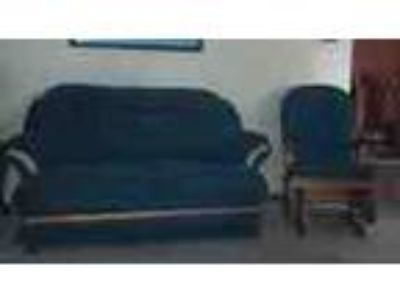 Love Seat Two Chairs For Sale