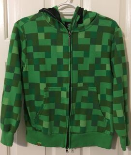 Minecraft Jacket with full hoody and face cover