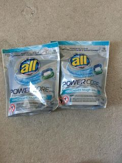 All power core pods detergent 18ct