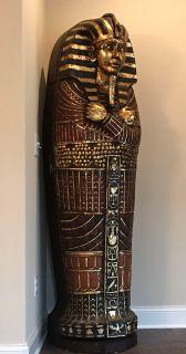 King Tut sarcophagus bookcase