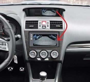 Relocate your Backup camera to the head unit!