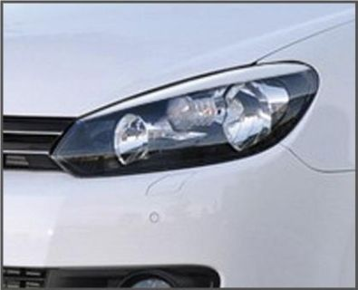 Purchase VW GOLF GTi MK6 Eyelids eyebrows FRONT headlight light brows ABS GOLF 6 MKVI NEW motorcycle in Watertown, Massachusetts, US, for US $44.00