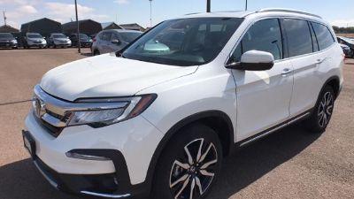 2019 Honda Pilot Elite AWD (White Diamond Pearl)