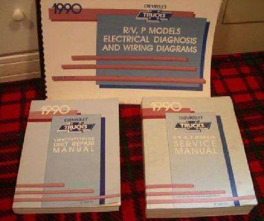 $50 1990 Chevy truck manuals* (spenard)