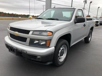 2012 Chevrolet Colorado Work Truck (Sheer Silver Metallic)