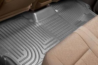 Purchase Husky Liners 19052 11-12 Dodge Durango Gray Custom Floor Mats 3rd Row motorcycle in Winfield, Kansas, US, for US $96.95