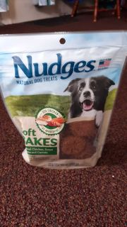 Nudges soft bakes natural dog treats