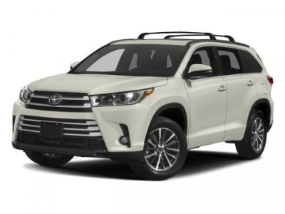 2018 Toyota Highlander XLE V6 AWD (MIDNIGHT BLACK METALLIC)