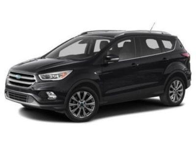2017 Ford Escape Titanium (G1 SHADOW BLACK)