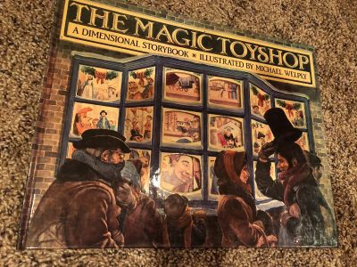 The Magic Toyshop. A Dimensional Storybook. Retails for $26.00 As Shown On Last Picture