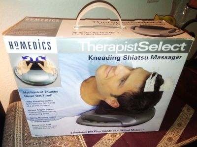 HOMEDICS TherapistSelect Kneading Shiatsuu Massager #SM-100