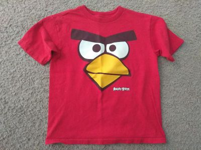 Angry birds size 6/7