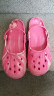 Pink Clogs Shoes