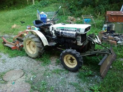 2cyl de tractor and mover 4wd