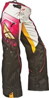 Buy Fly Racing Kinetic Ladies Overboot Pants Motocross Racewear Pink/Orange motorcycle in Hinckley, Ohio, United States, for US $99.95