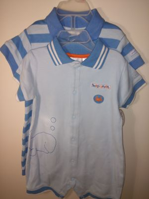 2 NWT baby boy jumpers by small wonders