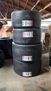 New unmounted Hoosier slicks