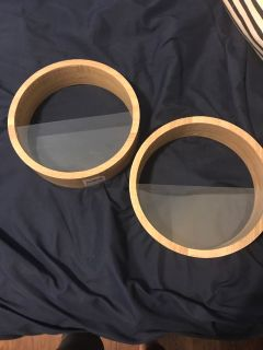 2 wooden wall planters! Brand new!