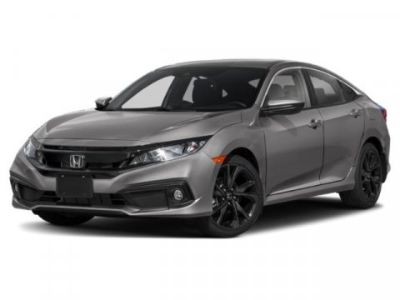 2019 Honda CIVIC HATCHBACK Sport (Crystal Black Pearl)
