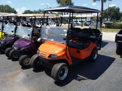 2015 E-Z-Go Custom 4 Passenger TXT Golf Golf Carts Fort Pierce, FL