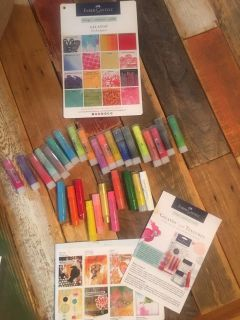 GELATOS EUC.. Project ideas and color guides