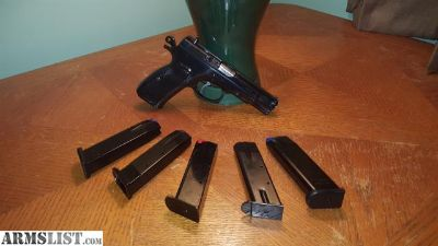 For Trade: CZ75B, 6 mags, Speed Loader