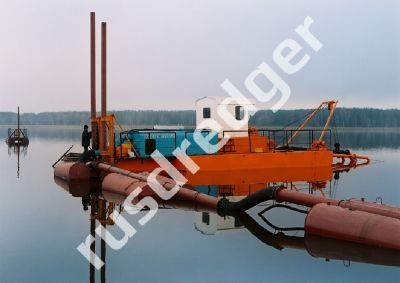 Dredger 400 by URAL HYDROMECHANICAL PLANT, CJSC