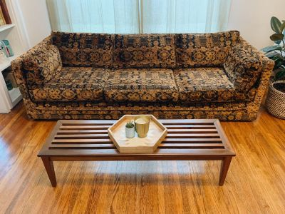 Boho Mid Century Couch