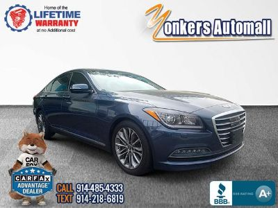 2016 Hyundai Genesis 3.8L (Montecito Blue)