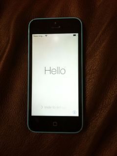 $380, Blue Unlocked iPhone 5c- Must sell TODAY