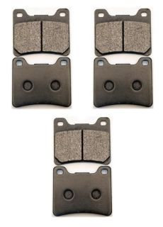 Purchase 2FR+1R BRAKE PADS SET YAMAHA FZ750 FZ700 FZX700 6 pcs motorcycle in Miami, Florida, US, for US $39.99
