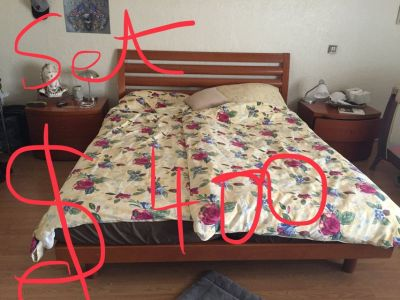 Master Bed Set real wood form Italy