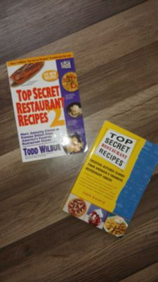 Top Secret Restaurant Recipe Books. NEW