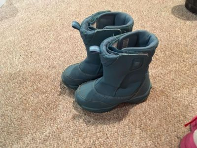 Girls lands end winter boots size 13